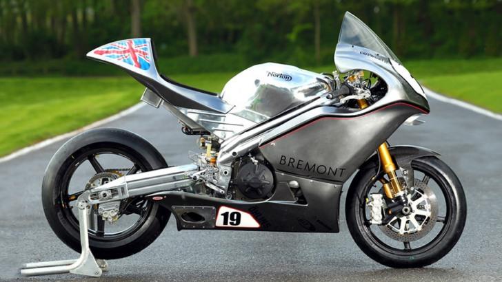 Norton SG3 IOM TT Bike