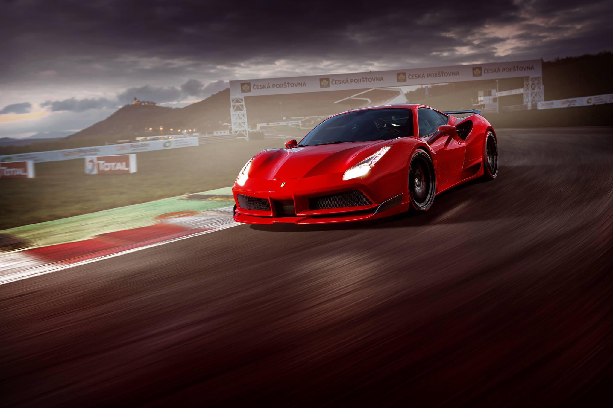 Ferrari F12 Goes Body Building Liberty Walk Kit Rendered Autoevolution