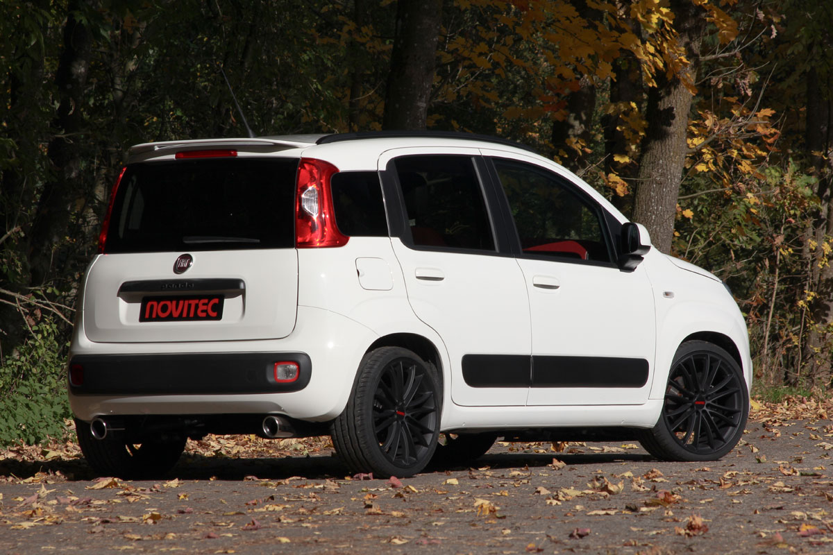 novitec fiat panda two cylinder engine with 100 hp. Black Bedroom Furniture Sets. Home Design Ideas