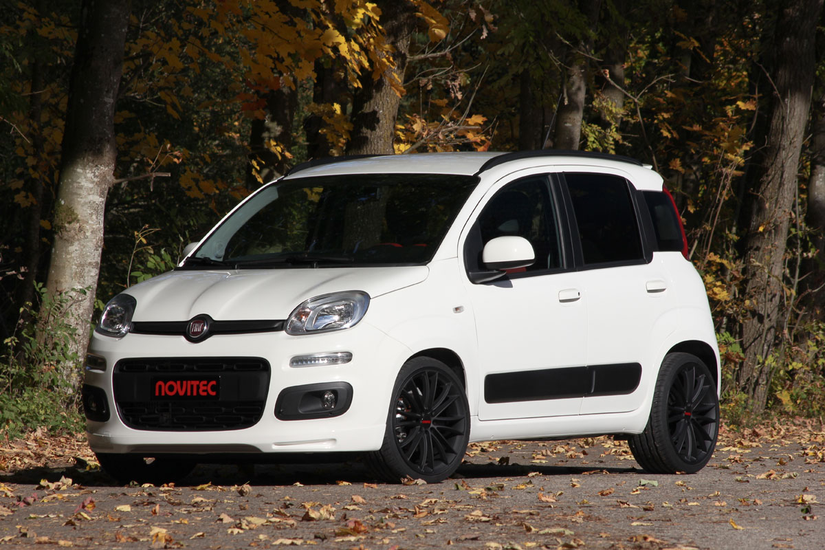 Novitec Fiat Panda Two Cylinder Engine With 100 Hp