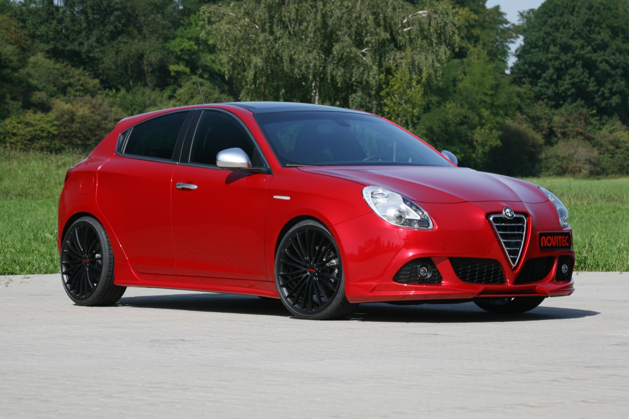 novitec gives alfa romeo giulietta some extra juice. Black Bedroom Furniture Sets. Home Design Ideas