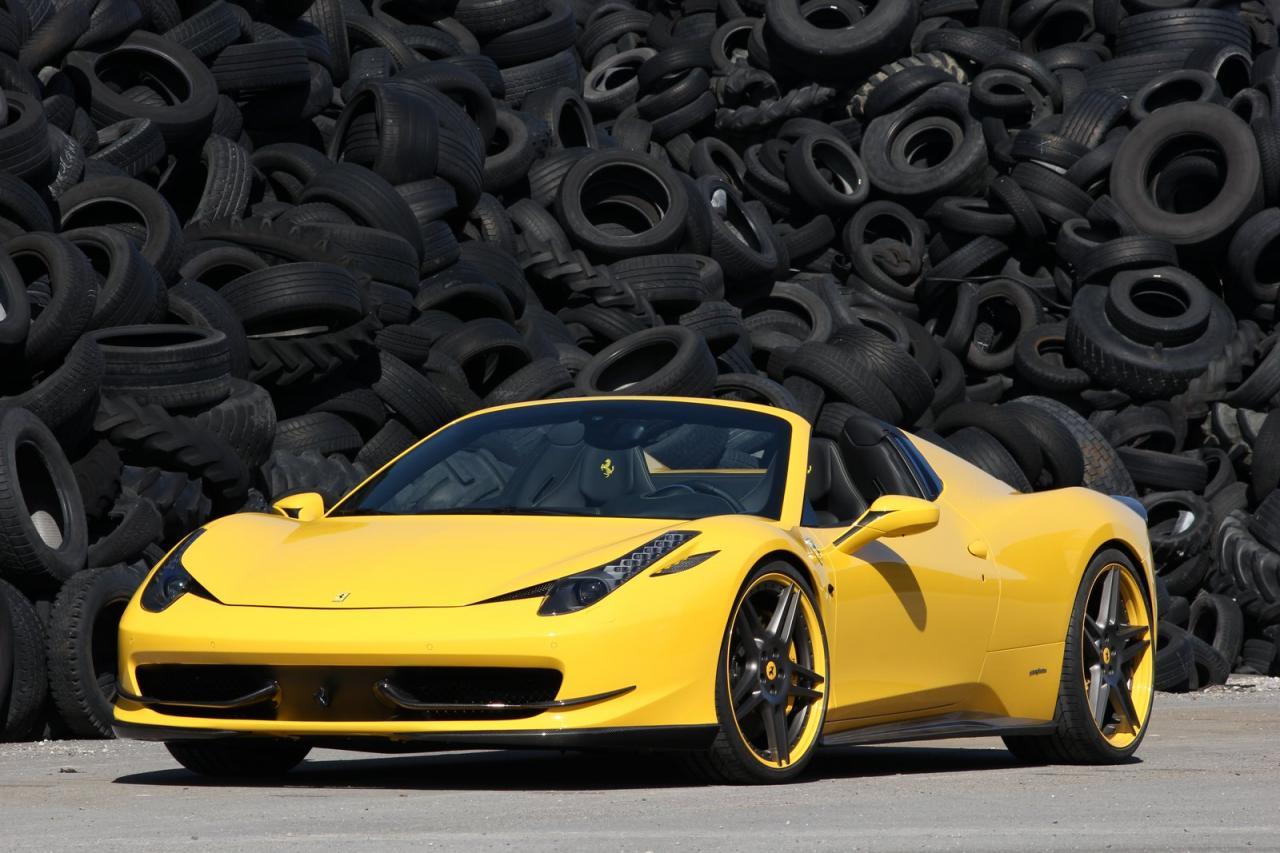 Novitec Ross Ferrari 458 Spider Autoevolution