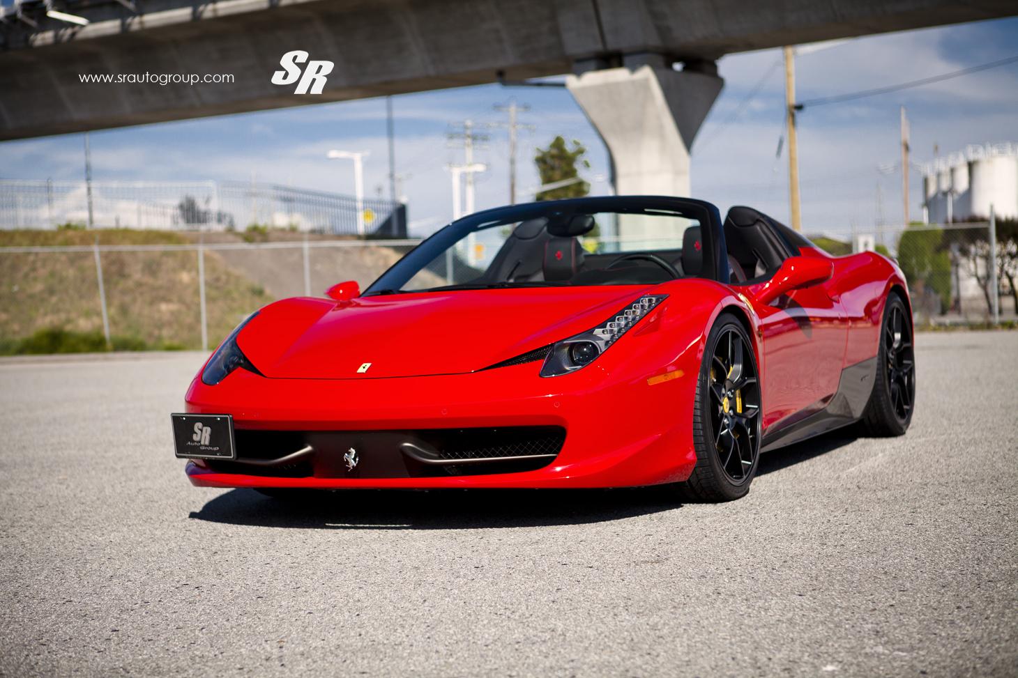 Pirelli P Zero >> Novitec Rosso Ferrari 458 Spider Released by SR Auto ...