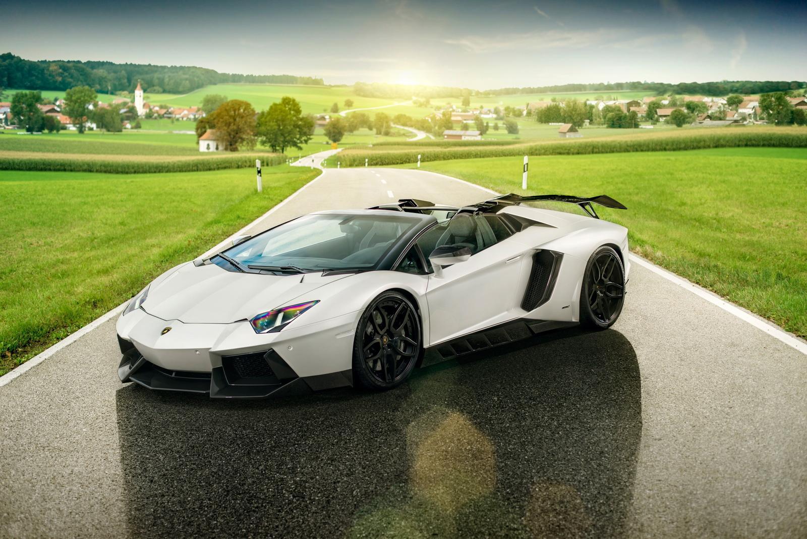 Exceptionnel ... Novitec Torado Lamborghini Aventador Roadster ...