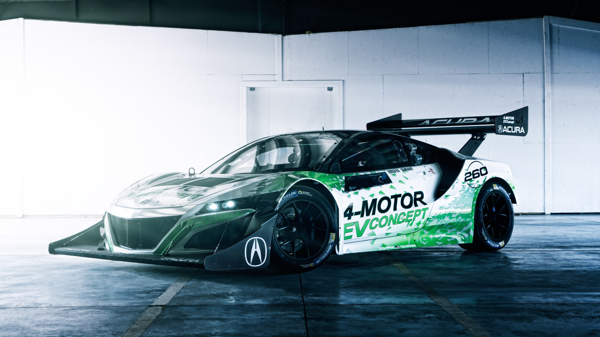 Nsx Inspired Acura Ev Concept For 2016 Pikes Peak Hill Climb