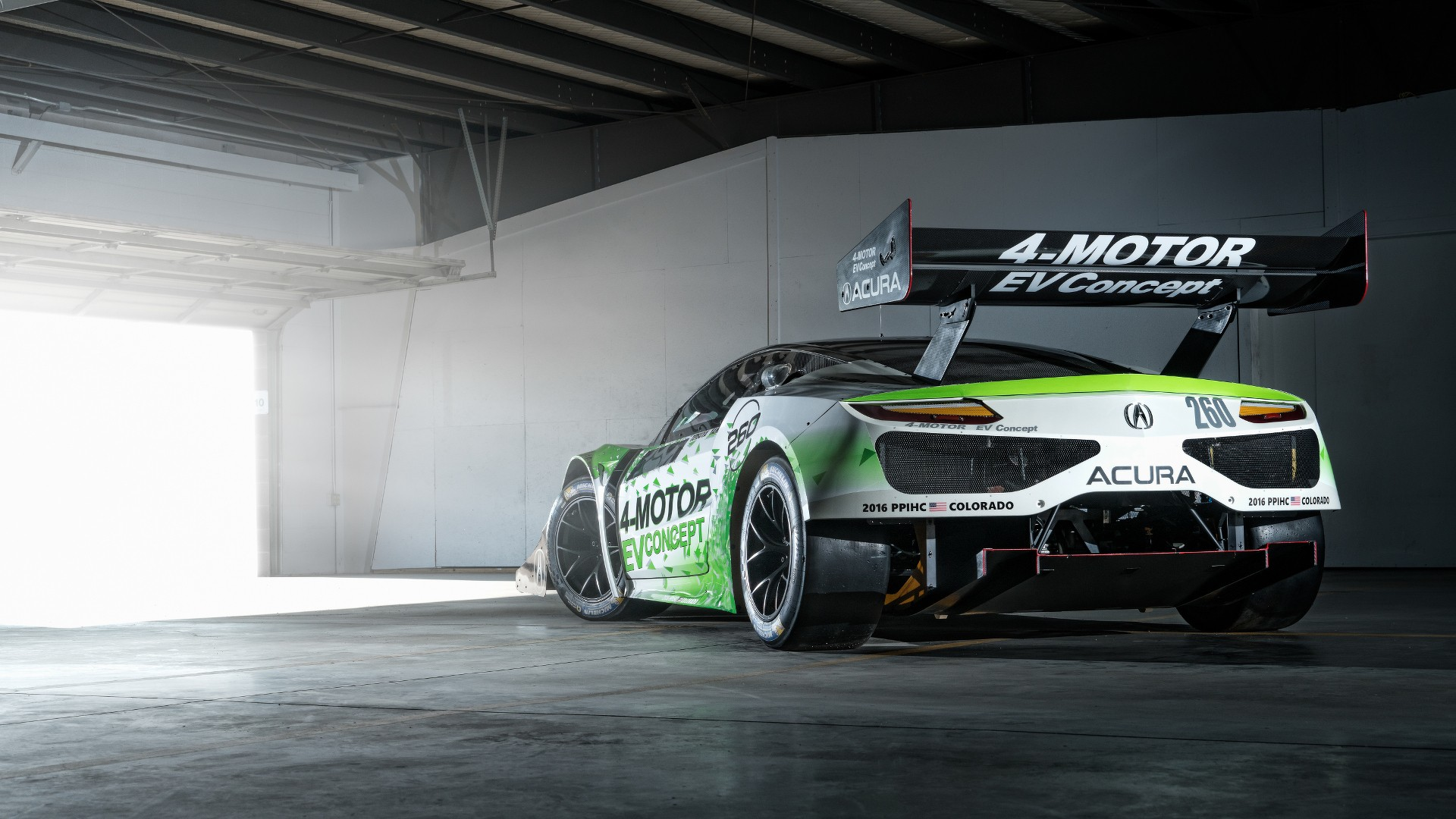 NSX-Inspired Acura EV Concept for 2016 Pikes Peak Hill Climb - photo ...