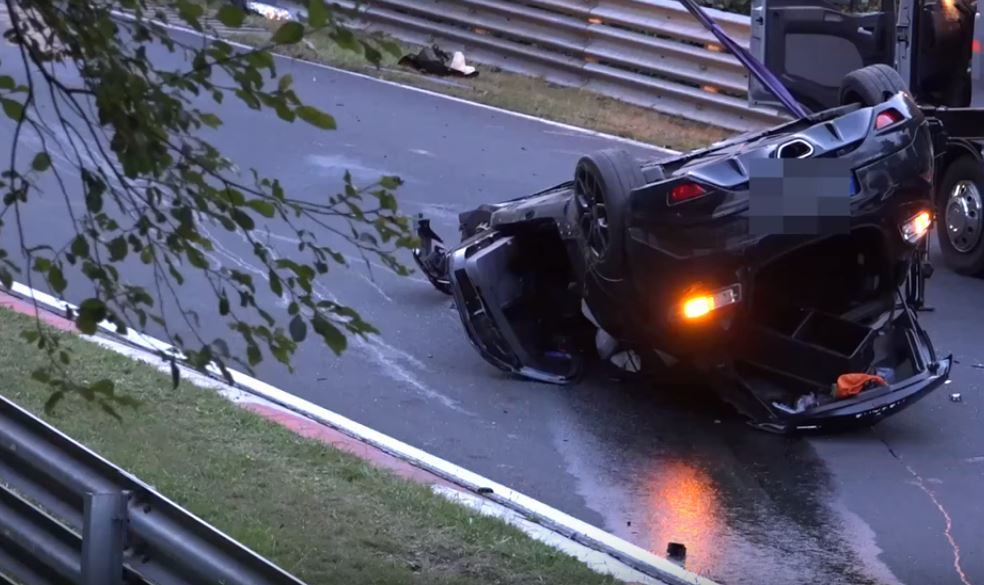 Music Video Backwards Car Crash