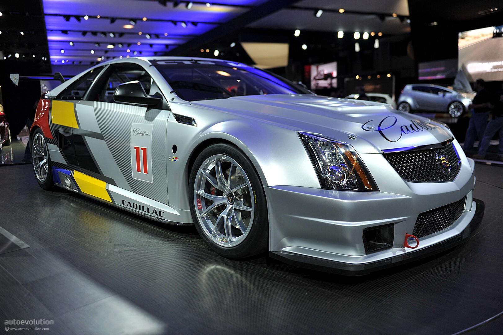 Cadillac Cts V Used >> NYIAS 2011: Cadillac CTS-V Race Car [Live Photos] - autoevolution