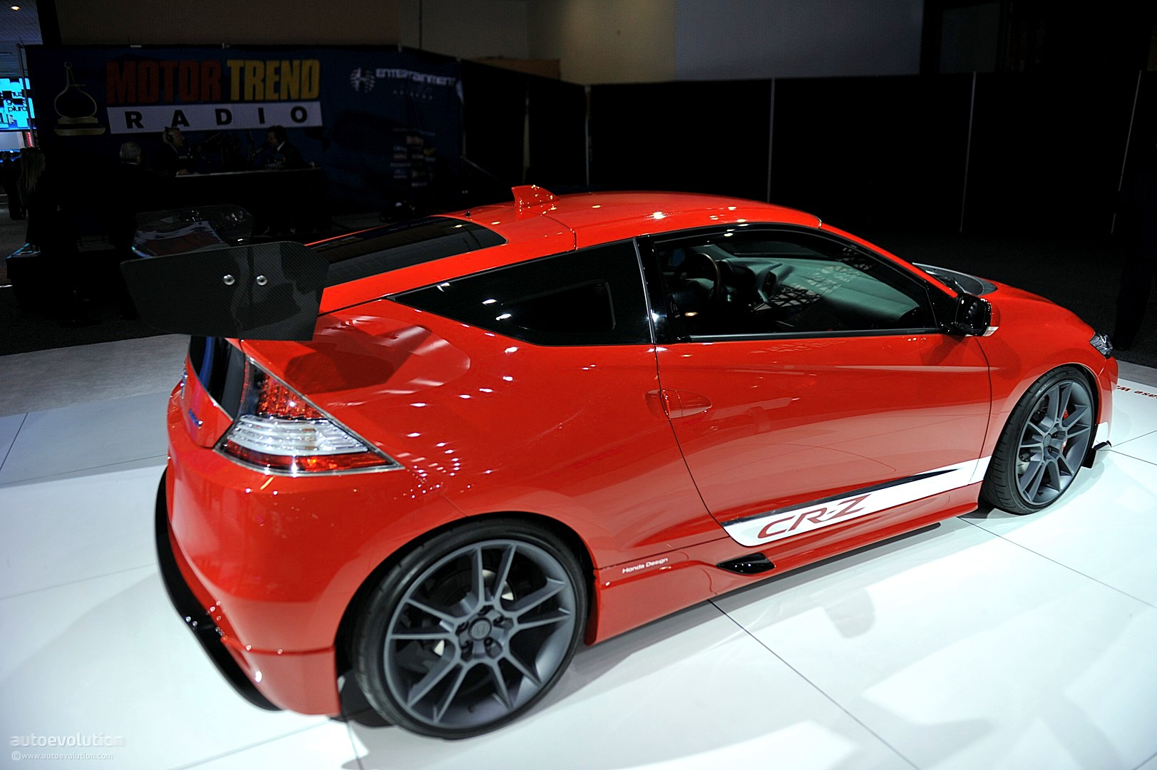 NYIAS 2011: Honda CR-Z Hybrid R Concept [Live Photos] - autoevolution