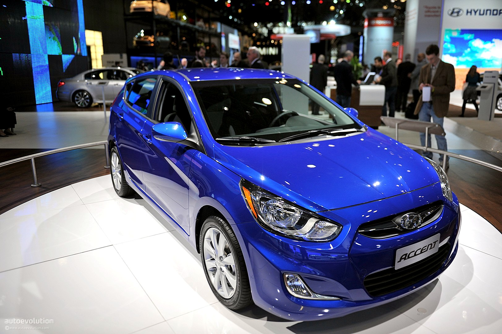 Nyias 2011 Hyundai Accent Live Photos Autoevolution