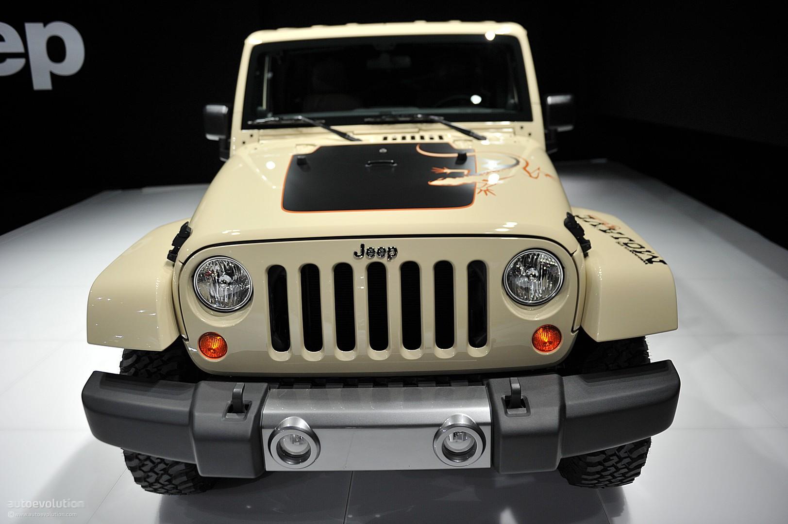 Nyias 2011 Jeep Wrangler Mojave Live Photos Autoevolution