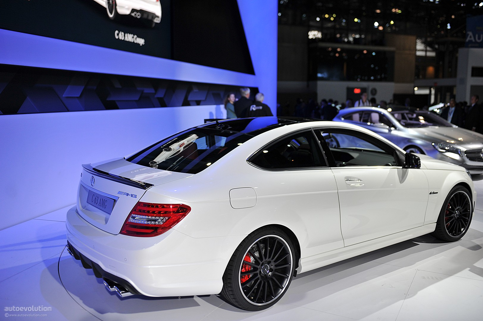 Nyias 2011 Mercedes C63 Amg Coupe Live Photos