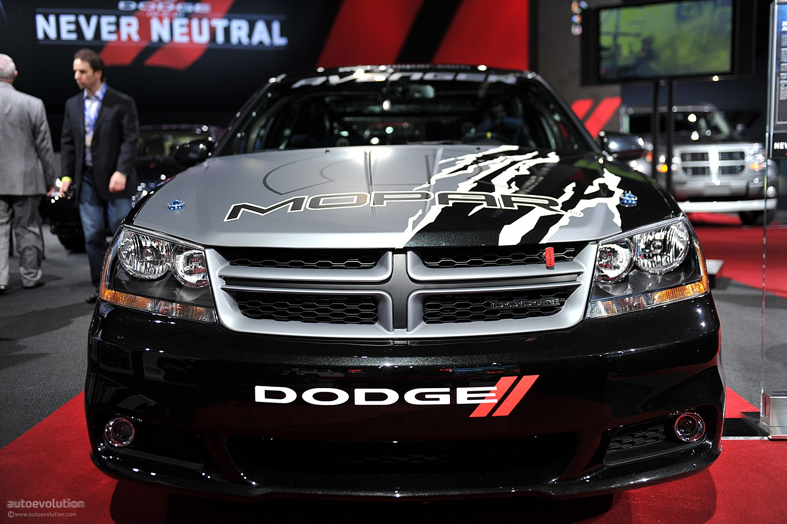 Nyias 2011 Mopar Dodge Avenger Rally Car Live Photos