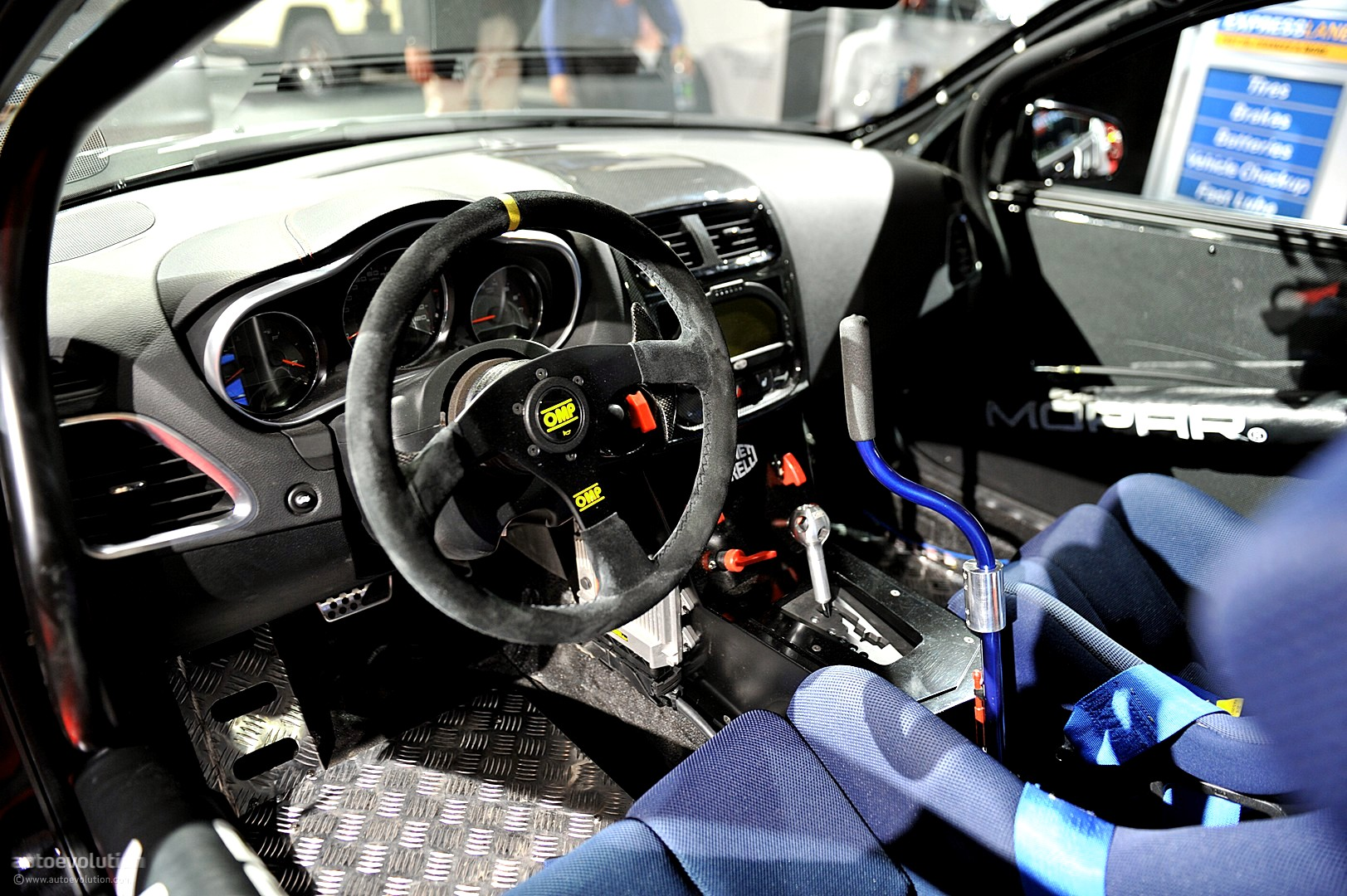 NYIAS 2011: Mopar Dodge Avenger Rally Car [Live Photos ...
