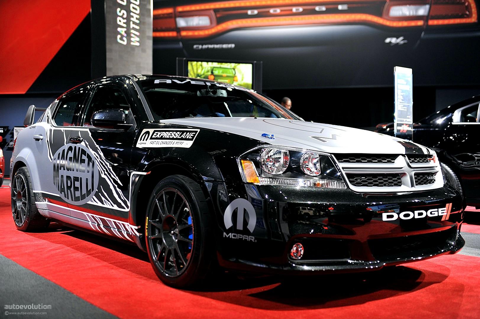 Nyias 2011 Mopar Dodge Avenger Rally Car Live Photos Autoevolution Wiring Diagrams