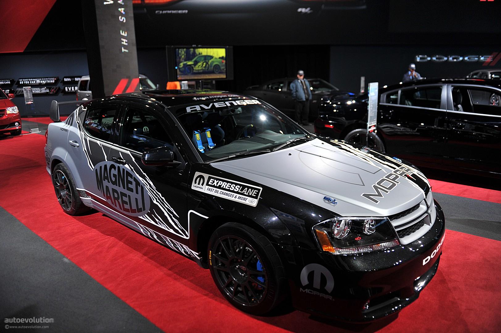 Chrysler Auto Parts >> NYIAS 2011: Mopar Dodge Avenger Rally Car [Live Photos] - autoevolution