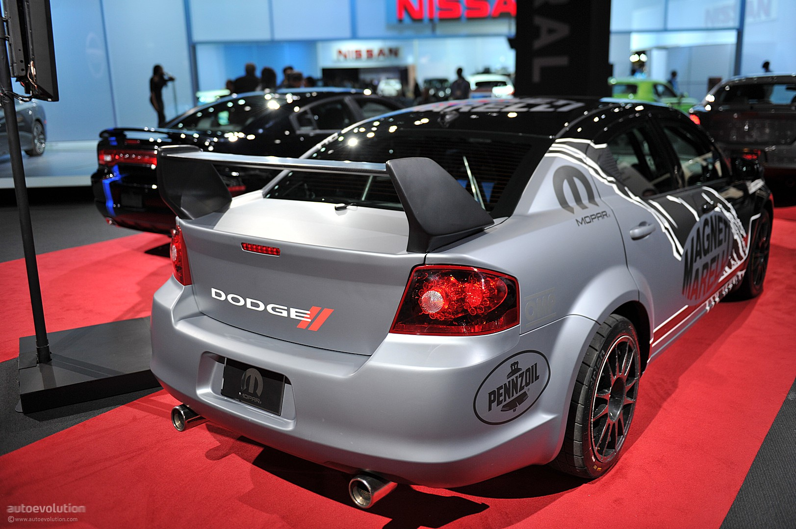 NYIAS 2011: Mopar Dodge Avenger Rally Car [Live Photos ...