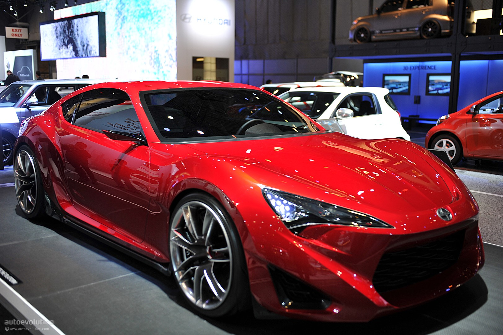 NYIAS 2011: Scion FR-S Concept [Live Photos] - autoevolution