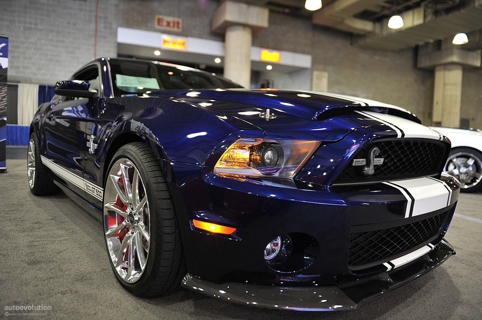 Nyias 2011 Shelby Gt500 Super Snake Live Photos
