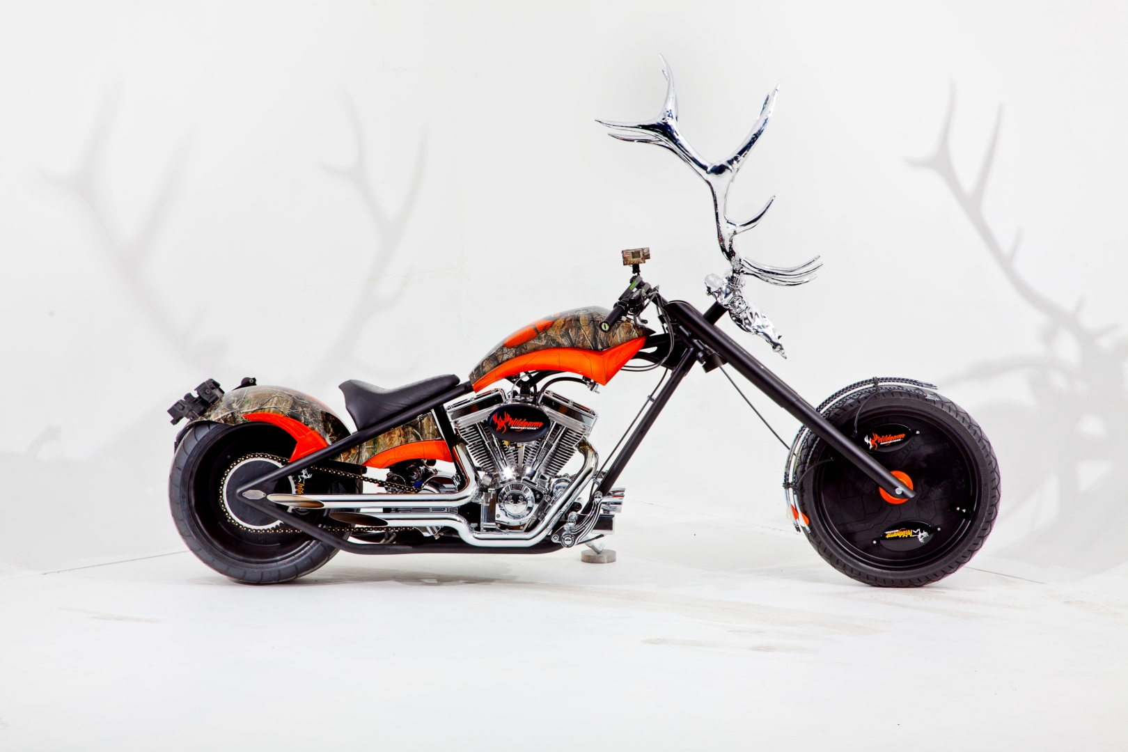 Occ Built The Siemens Custom Green Chopper Autoevolution 750 Kawasaki Motorcycle Wiring Diagram Elk Antler