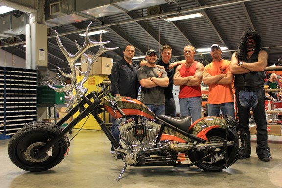 Occ S Elk Horn Custom Motorcycle Autoevolution