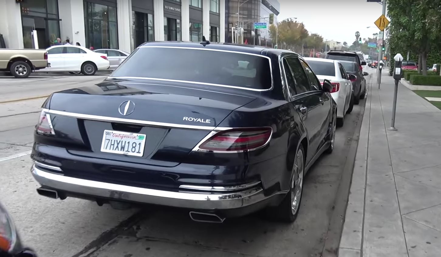 Odd mercedes s600 royale brought back into focus by new for Mercedes benz royale