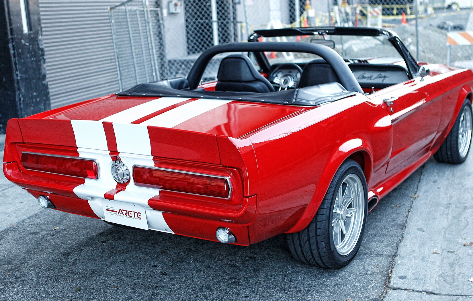 Of Ford Mustang GT Eleanor Replica, Young Rapper Ty Dolla ...