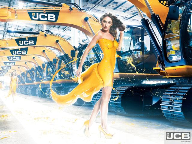Of Girls And Excavators 2013 Jcb Calendar Autoevolution