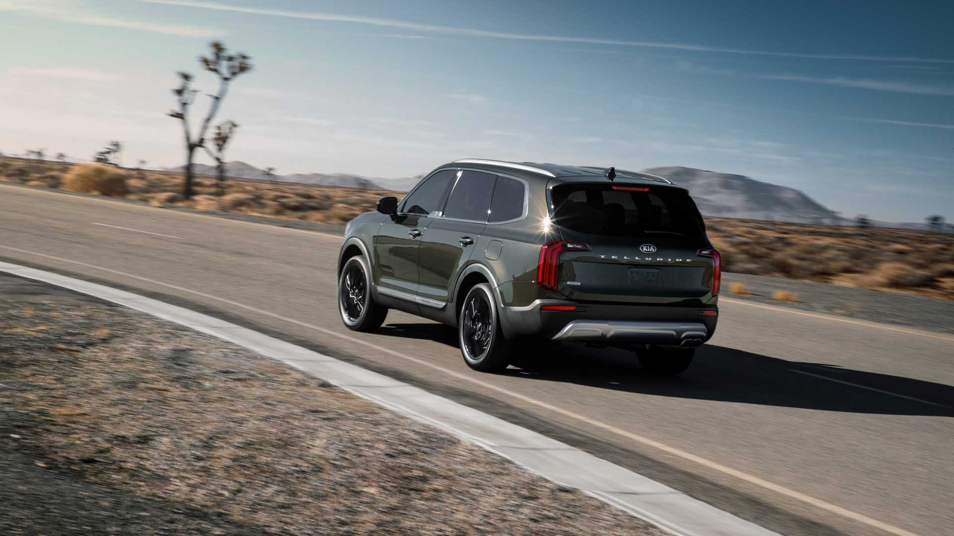 Off-Road 2020 Kia Telluride Model Under Consideration