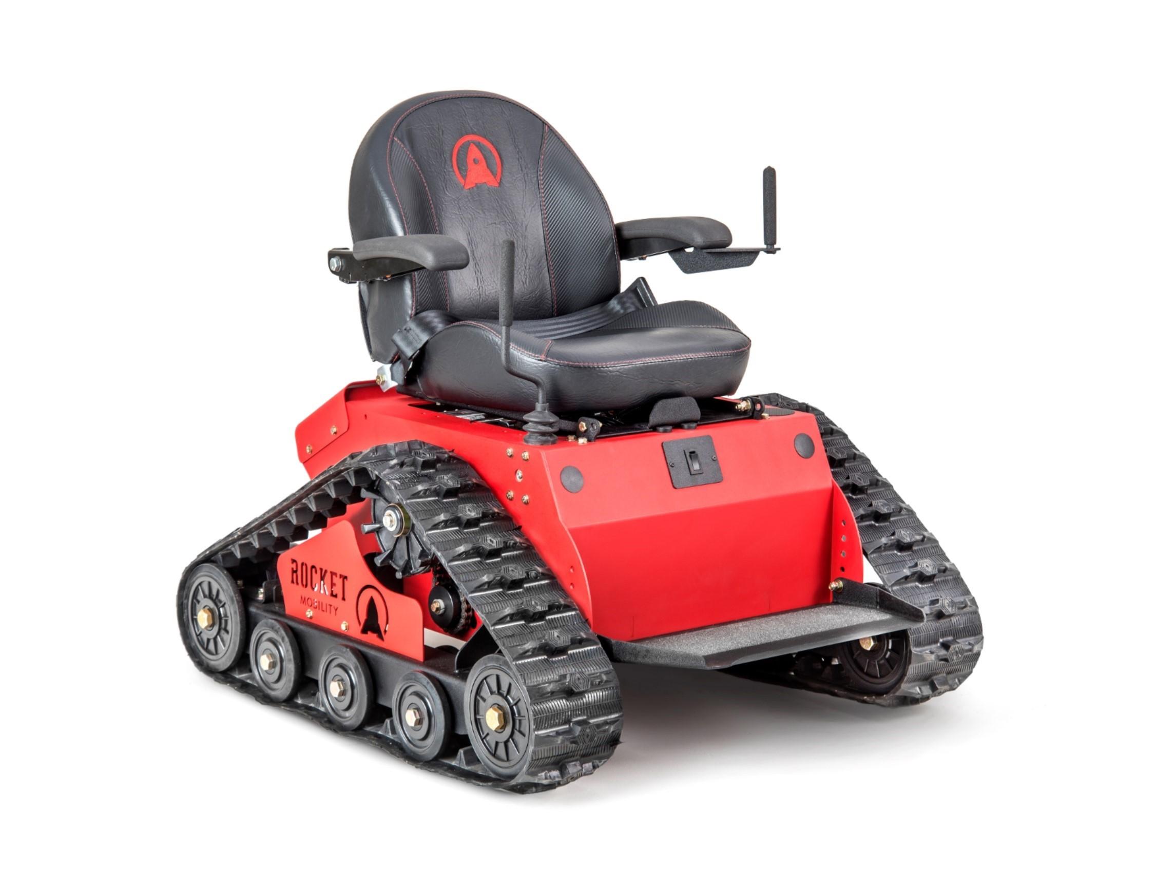 Off Road Wheelchair Meet The Tomahawk Autoevolution