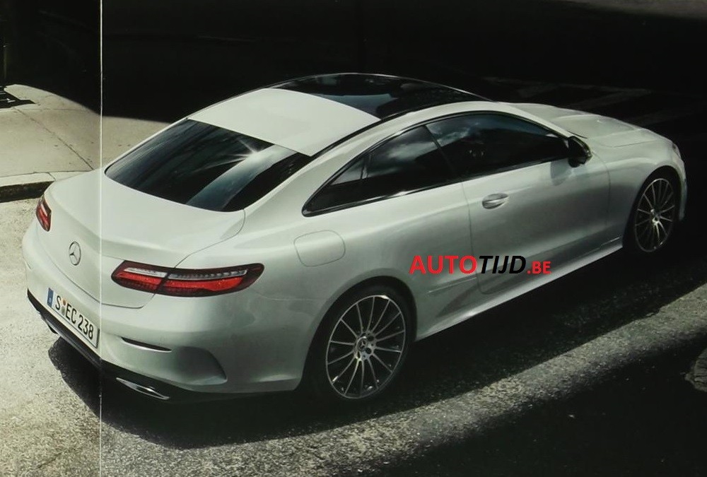 Official 2018 Mercedes-Benz E-Class Coupe Images Leaked ...