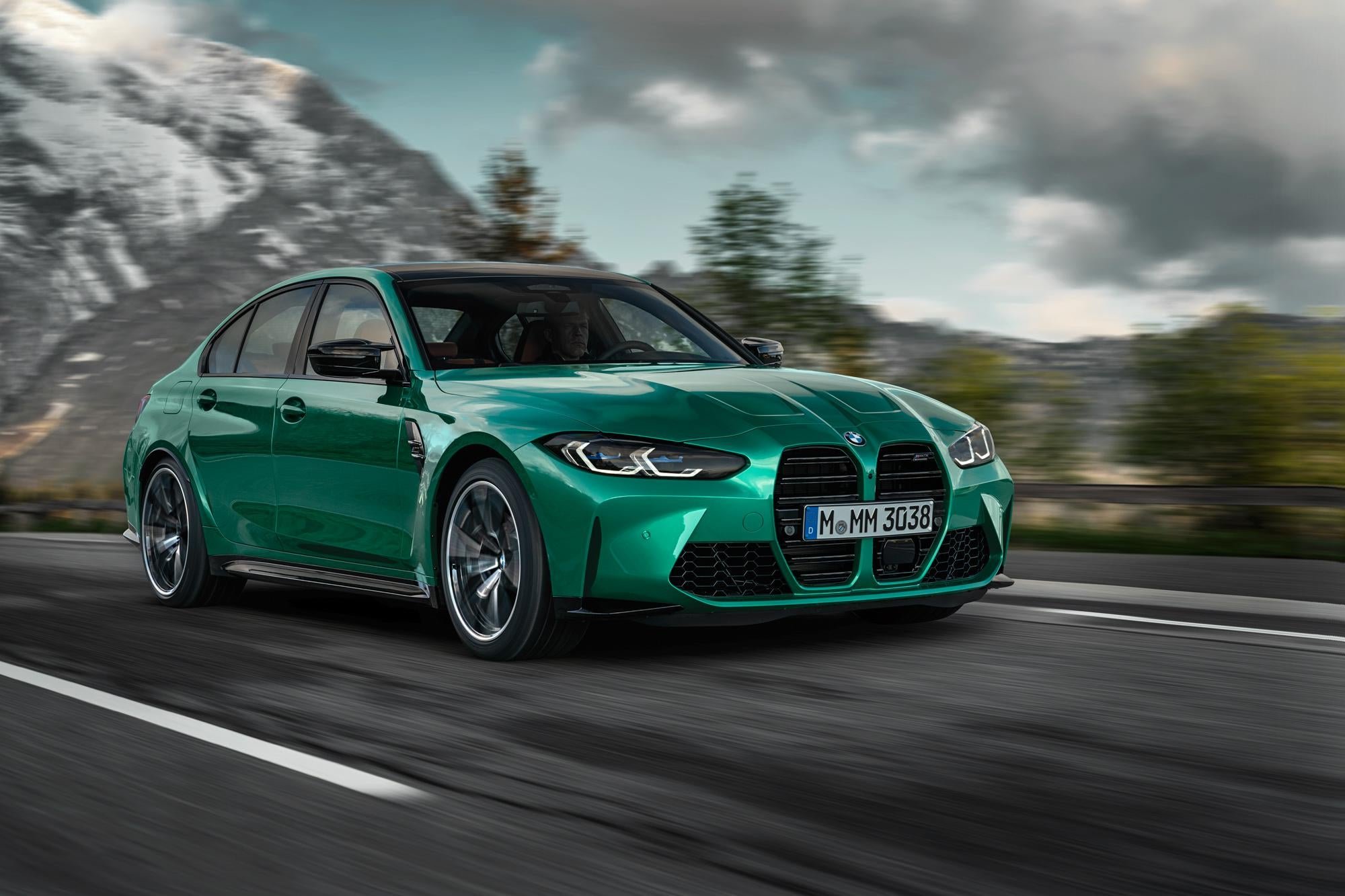 Official Photo Gallery: 2021 BMW M3 Sedan Leaked Along ...