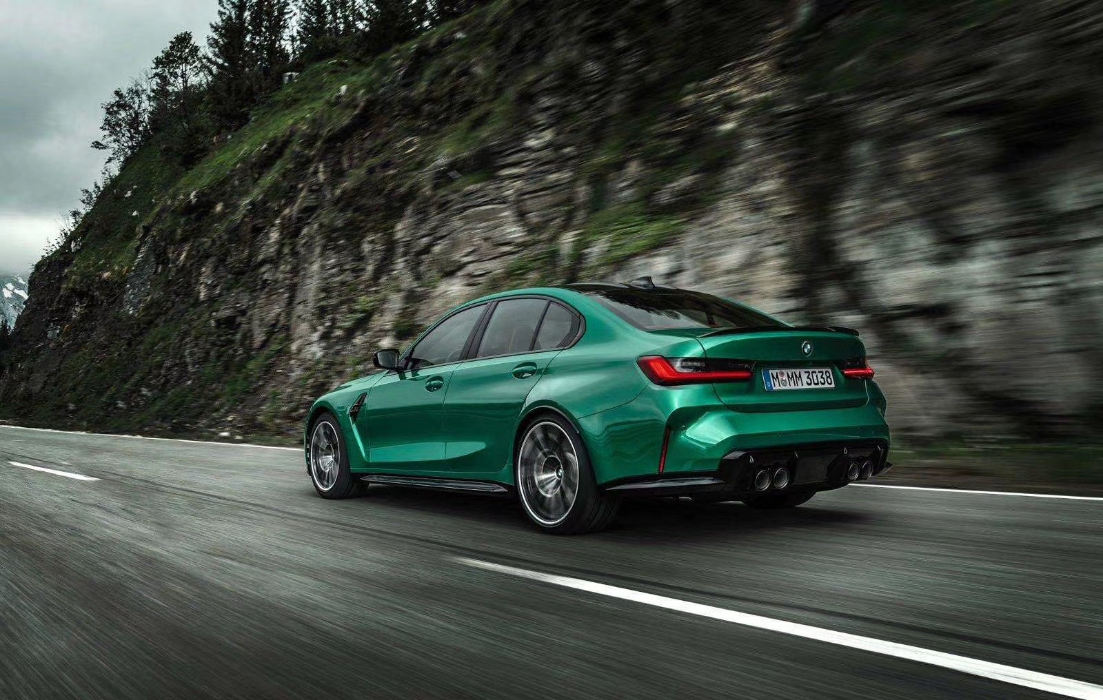 official photo gallery: 2021 bmw m3 sedan leaked along