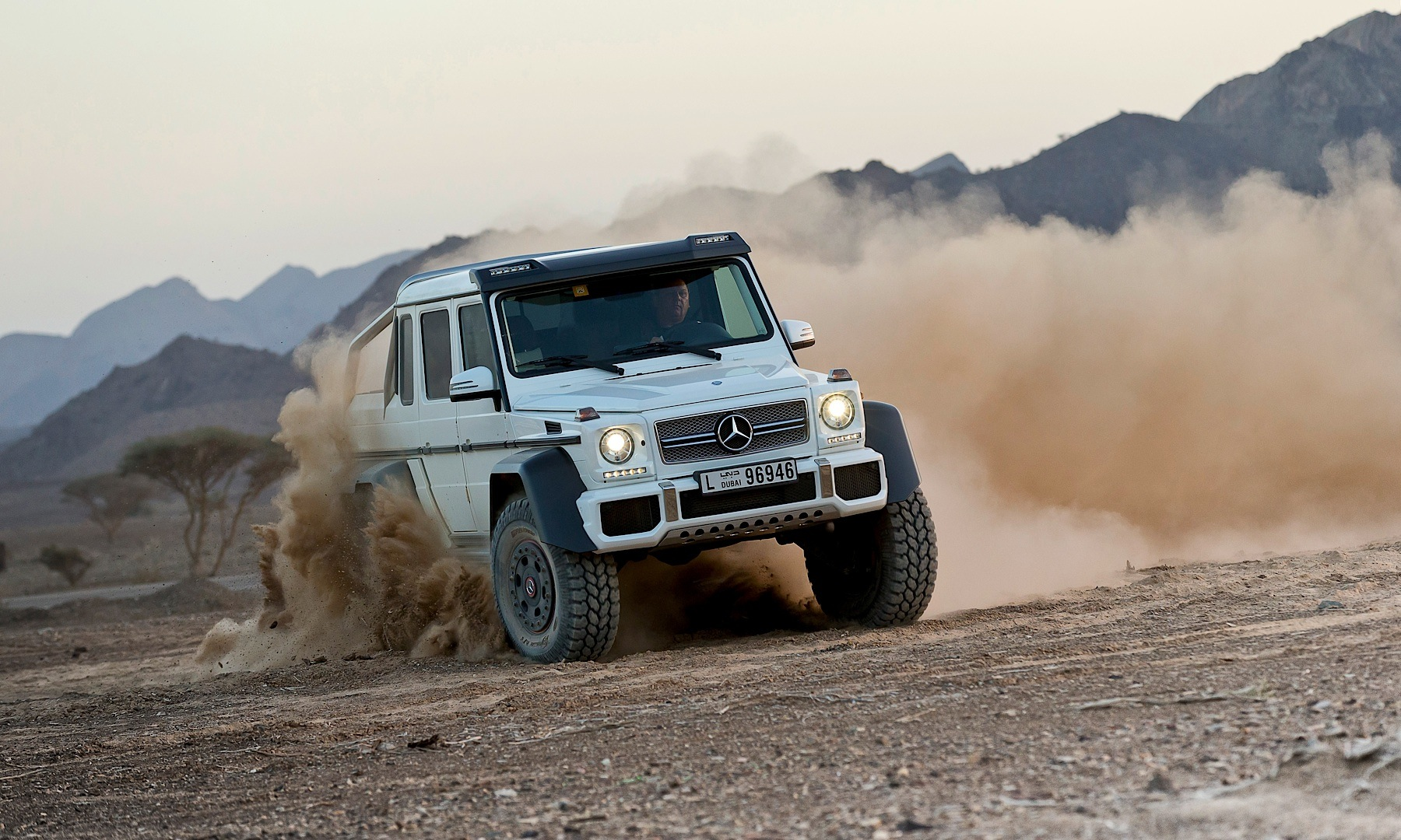 Oh, Noes! G 63 AMG 6x6 Goliath Gets Price Increase ...