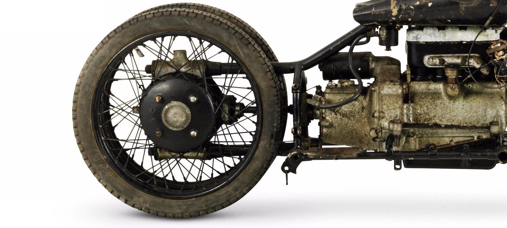Old Brough Superior Bikes Thought Lost Discovered Now Worth A