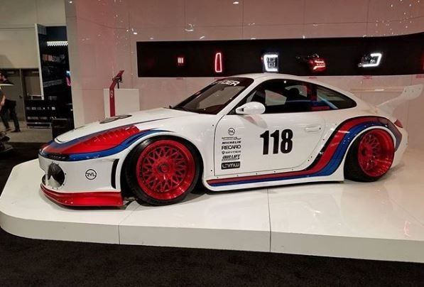 Porsche Las Vegas >> Old & New 997 Porsche 911 Slantnose Is a Martini Shot at SEMA - autoevolution
