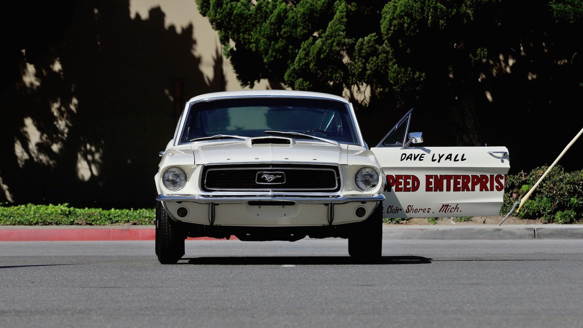 1968 ford mustang cobra jet lightweight