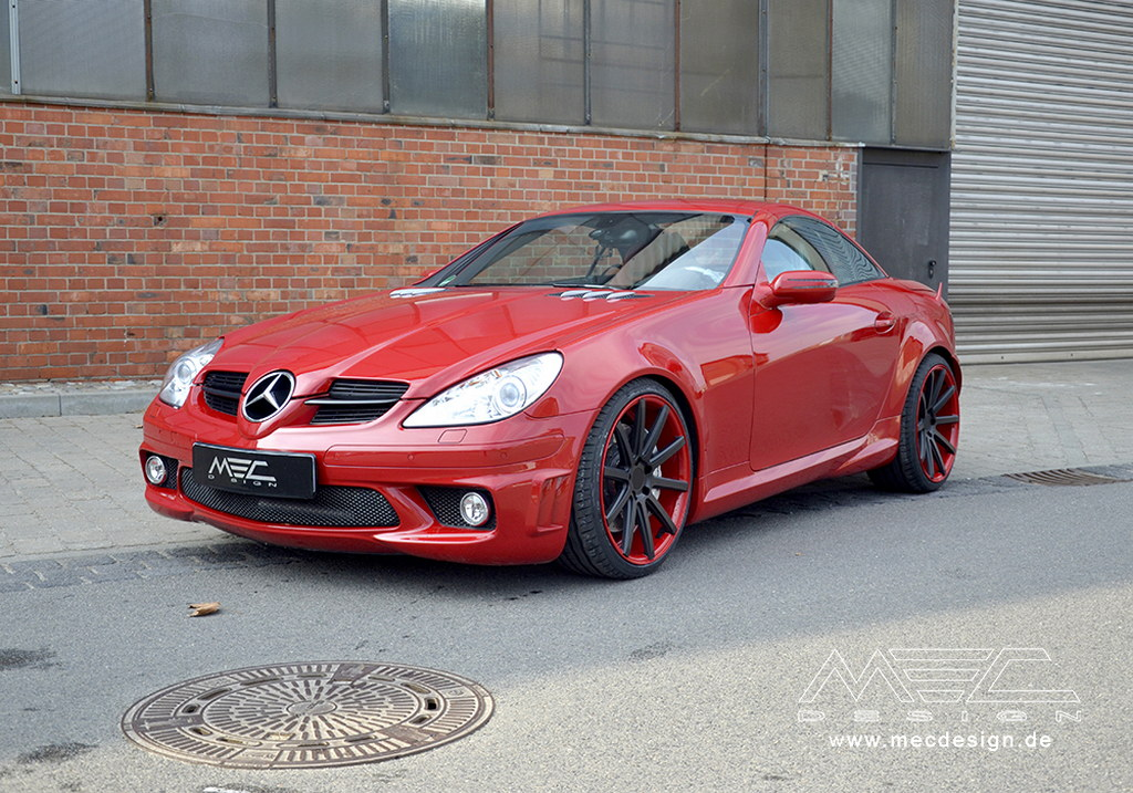 Old SLK 55 AMG R171 Tuned by MEC Design - autoevolution