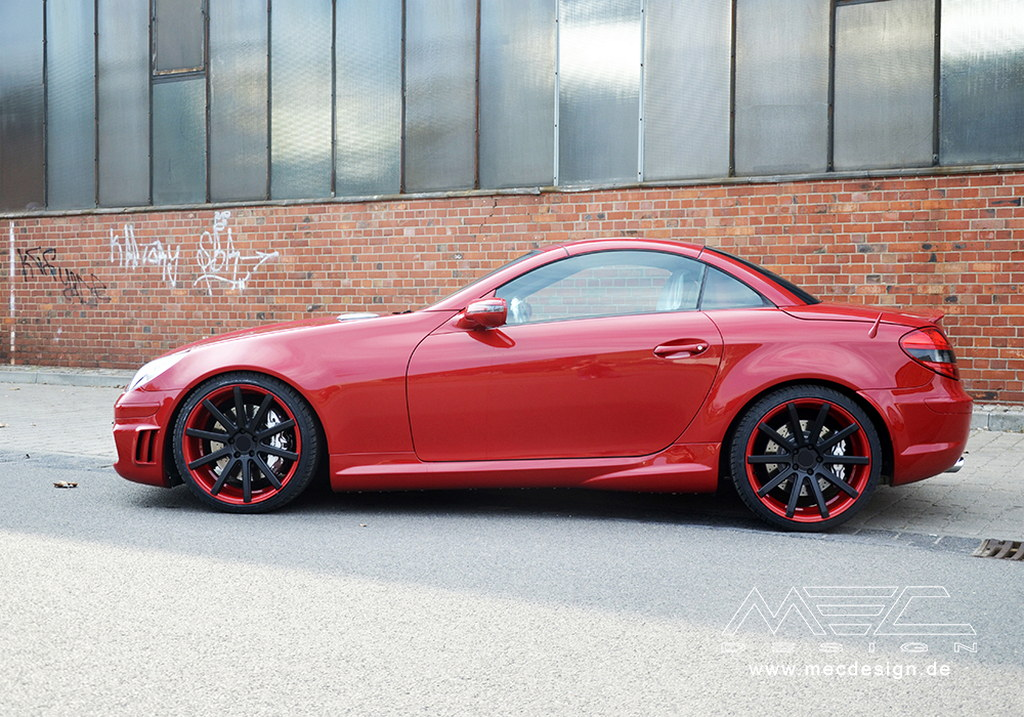 Old Slk 55 Amg R171 Tuned By Mec Design Autoevolution