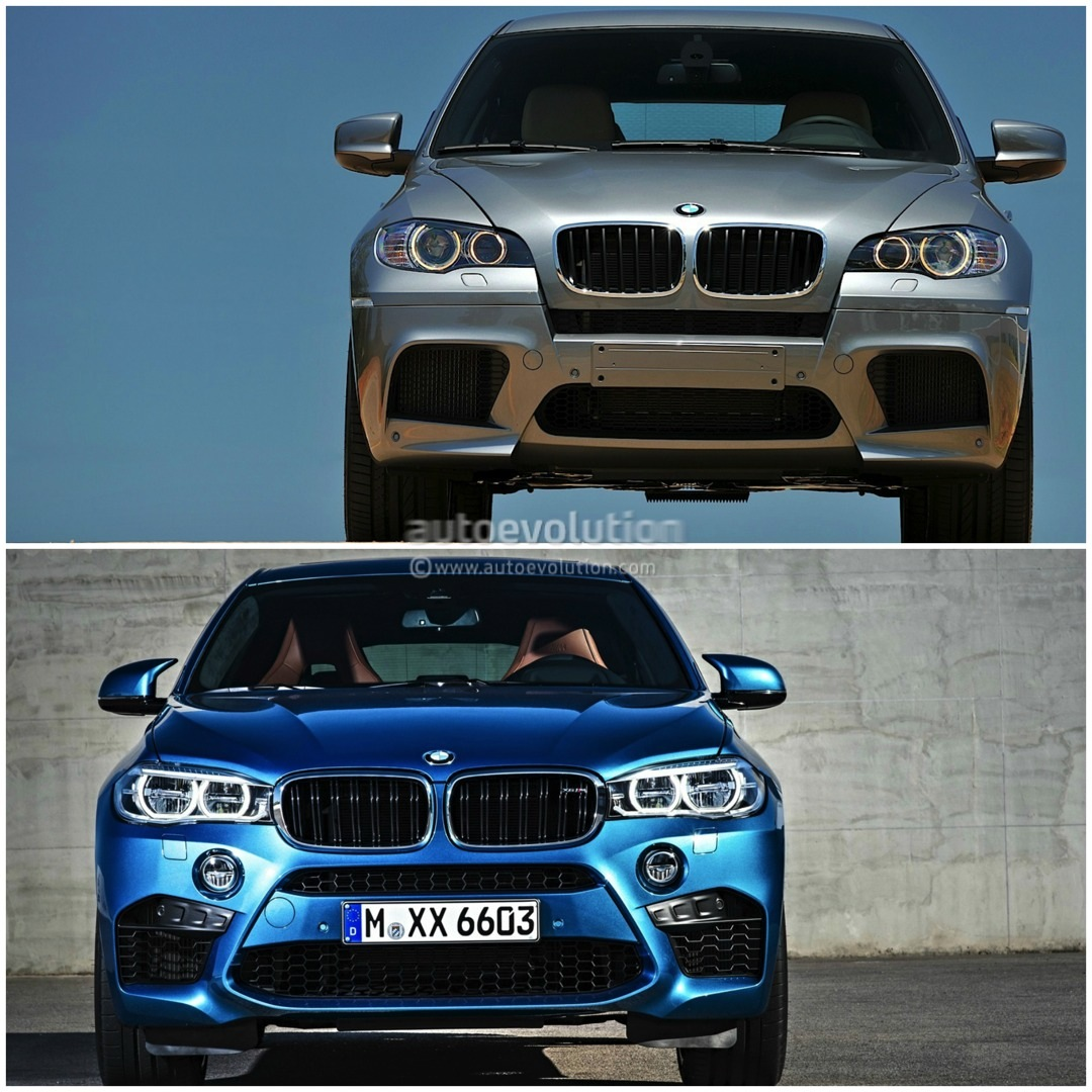 Old Vs New 2015 Bmw X6 M Compared To The Original Photo