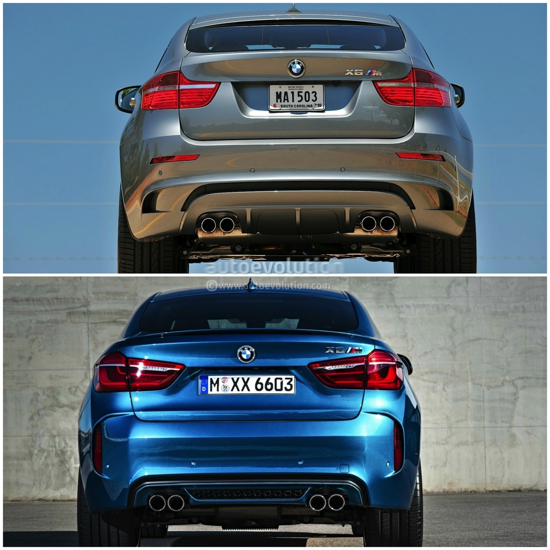 Bmw X6 Used: Old Vs New: 2015 BMW X6 M Compared To The Original [Photo