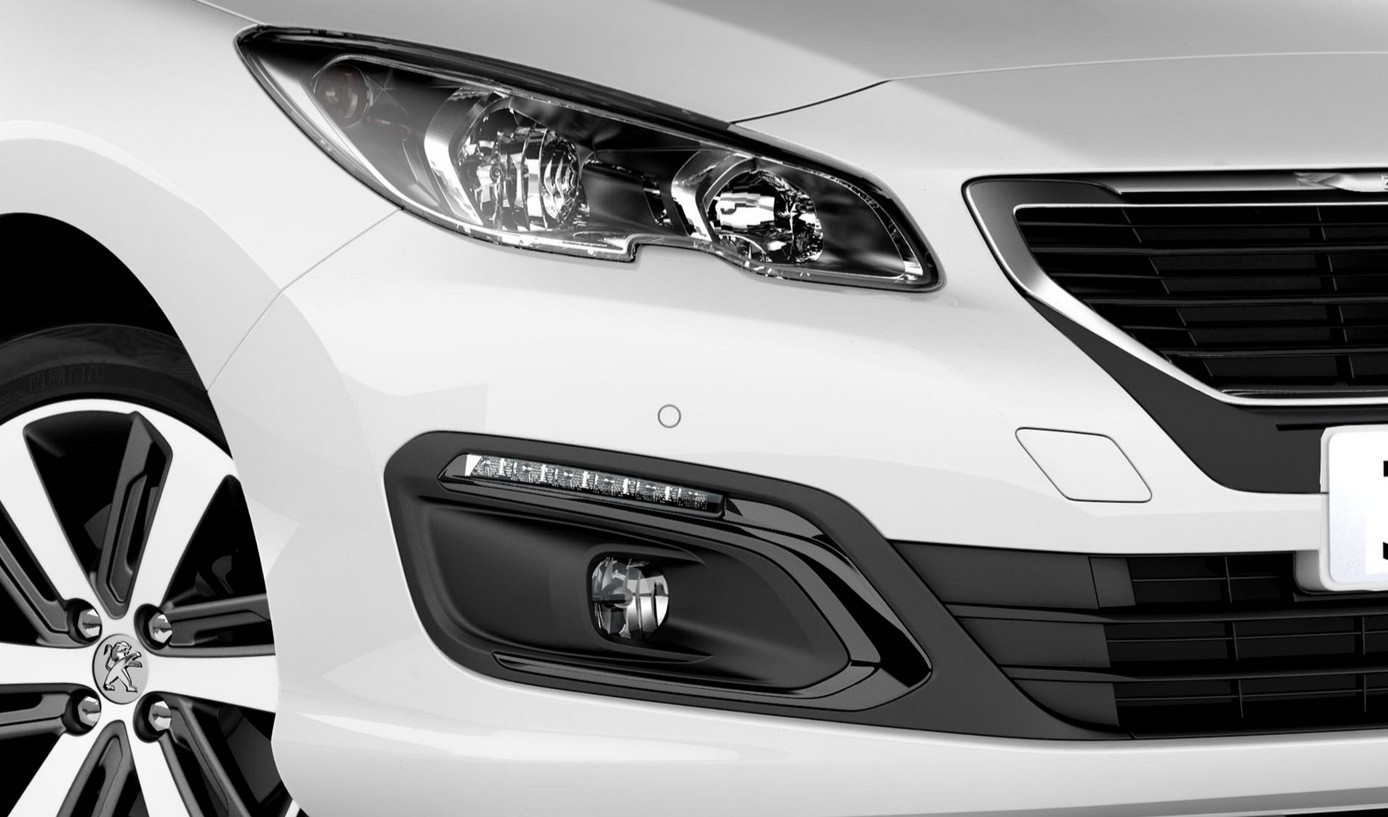 White Tire Paint >> Older Peugeot 308 and 408 Models Get a 2016 Facelift in ...