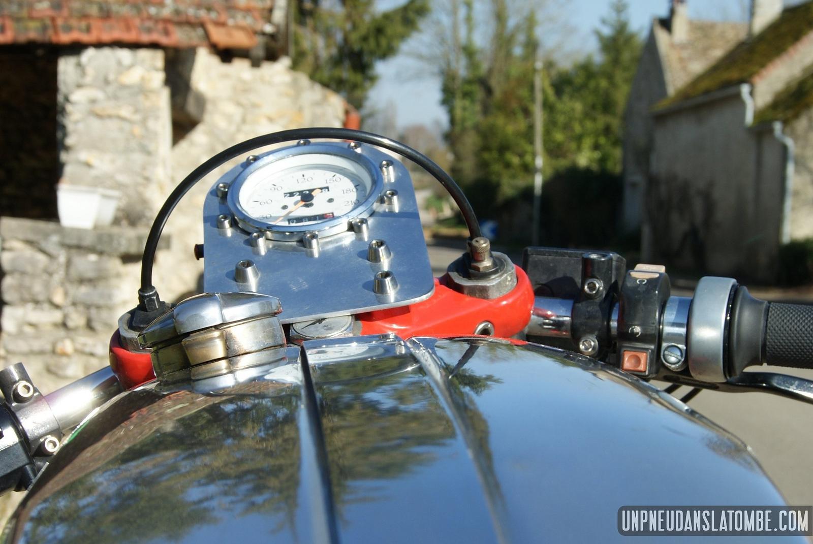Olivier's Moto Guzzi 850 T3 Is a Fiery Twin - autoevolution