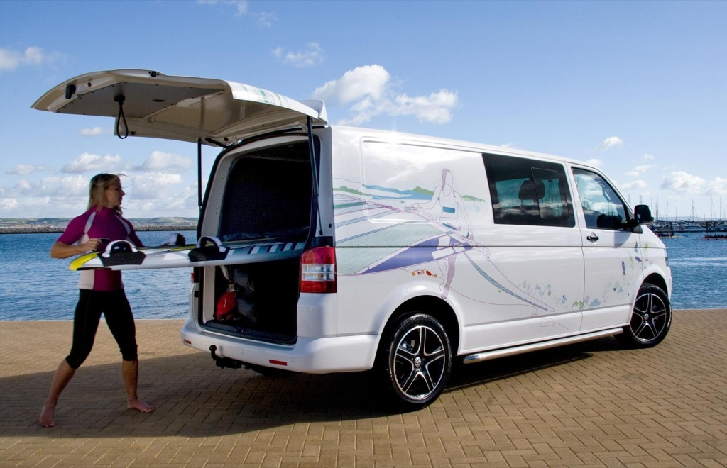 Olympic Contender Bryony Shaw Chooses Vw Transporter Kombi