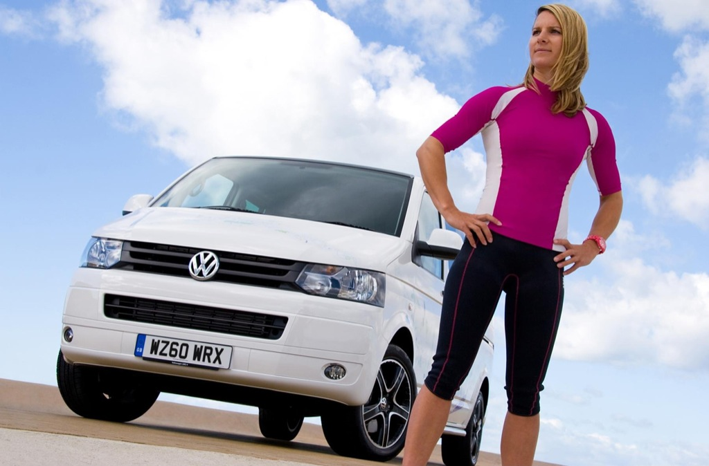 Olympic Contender Bryony Shaw Chooses VW Transporter Kombi for 2012