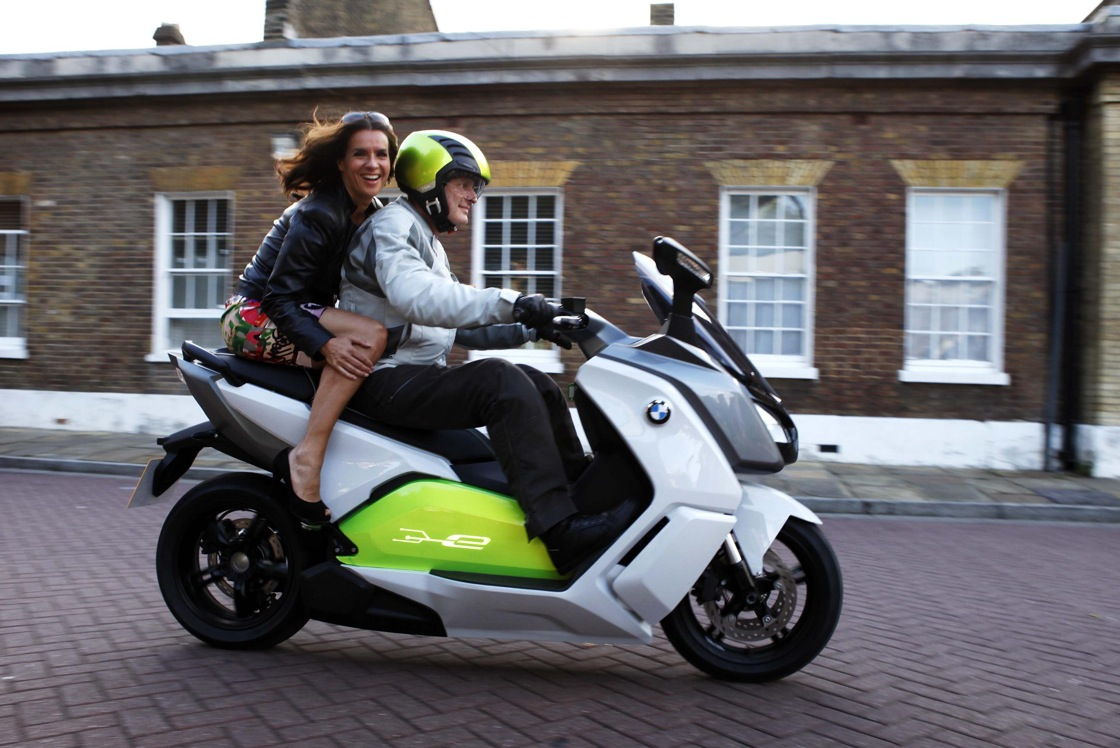To celebrate the 40th anniversary of the munich olympics bmw group olympic ambassador katarina witt got to sample the brand new concept for electric