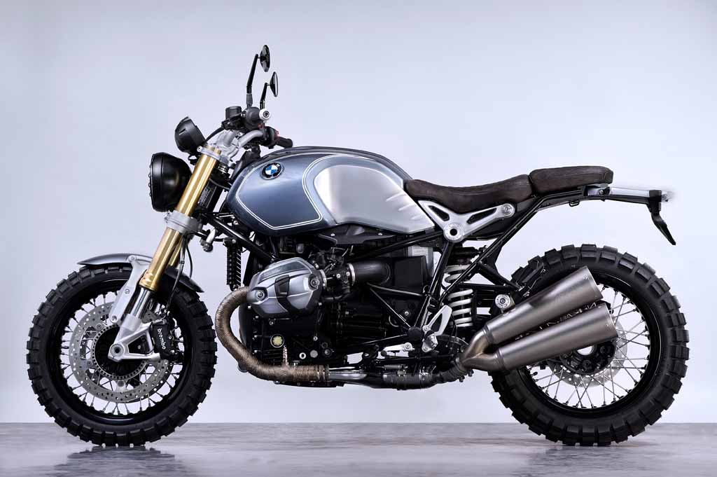 Only 6 Bmw R Ninet Brooklyn Scrambler By Boxer Design And Gant
