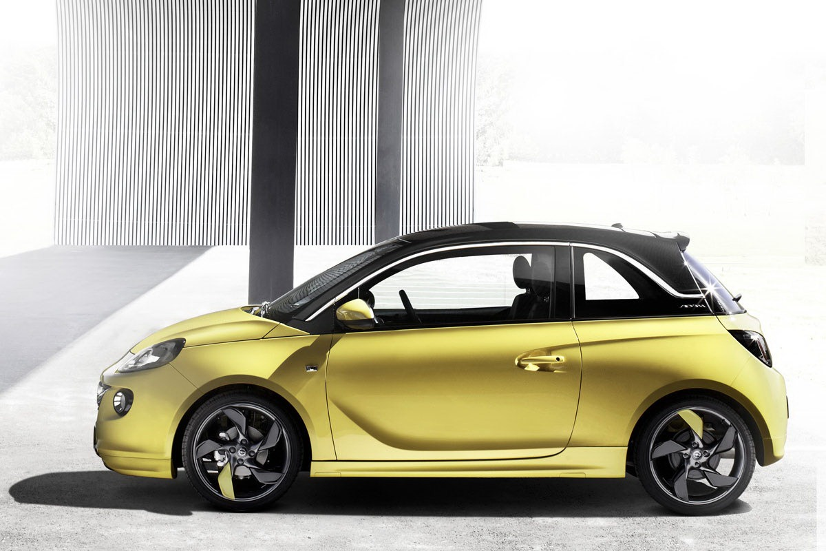 opel adam officially unveiled autoevolution. Black Bedroom Furniture Sets. Home Design Ideas