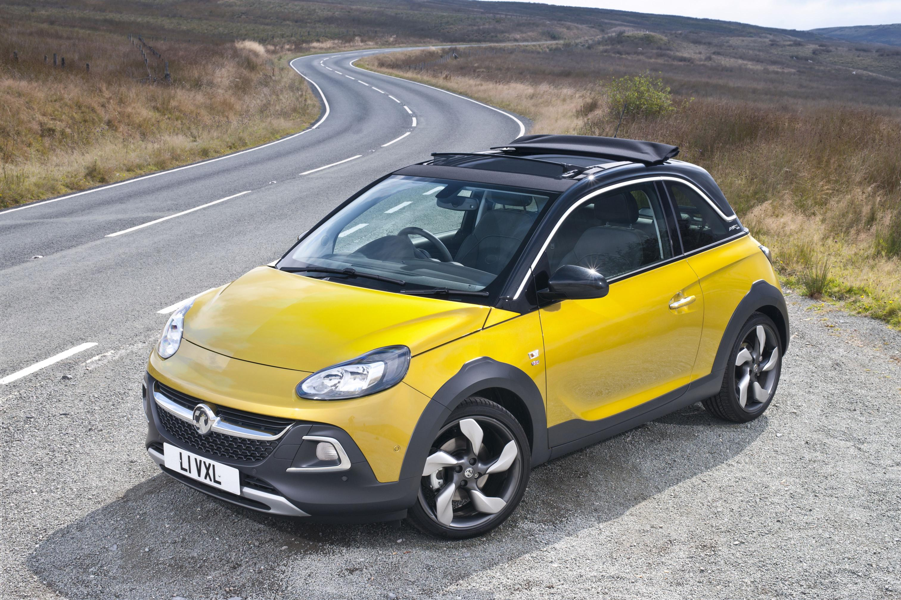 opel adam rocks priced from €15990 in germany video