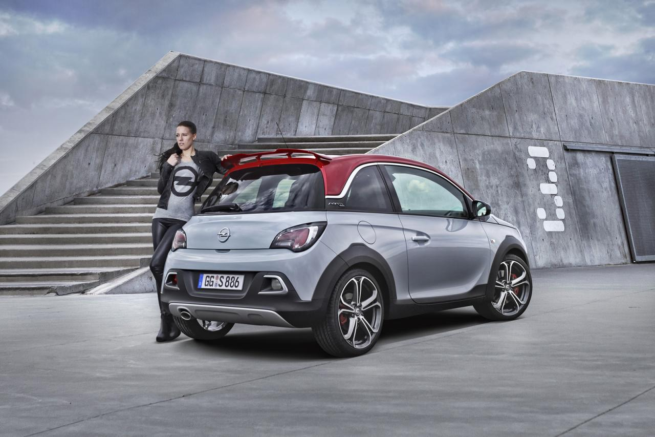 opel adam rocks s officially revealed with 150 hp. Black Bedroom Furniture Sets. Home Design Ideas